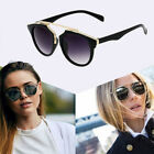 Fashion New Women Retro Vintage Shades Oversized Designer Cat Eye Sunglasses