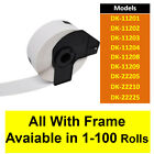 Compatible Roll Labels for Brother DK-11201/2/3/4/8/9 DK-22205/10/25