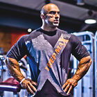 Bodybuilding T-Shirt - Designer Gym Clothing 1 Rep Max X-TEE in Black
