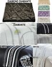 Modern Decorative Quilted Bed Runner Sequined Available in 3 Colours New