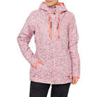 O'neill Stencil Womens Jacket Snowboard - White Aop All Sizes
