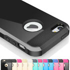 Rugged Rubber Matte Hard Case Cover Skin for iPhone 4 4S w/ Screen Protect Film