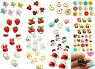 Cute Flower Animal Resin Small Dog Hair bows w/rubber bands Grooming Accessories