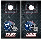 New York Giants Diamond Plate Cornhole Board Decal Wrap Wraps on eBay
