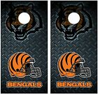 Cincinnati Bengals Diamond Plate Cornhole Board Decal Wrap Wraps on eBay