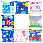 Children's Kids Scatter Cushions with Filled Pads Boys Girls Room Décor Bedroom