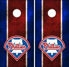 Philadelphia Phillies Cornhole Board Decal Wrap Wraps on Ebay