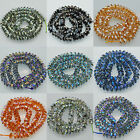 4x8mm AAA Facted High Quality Quartz crystal Beads 8""