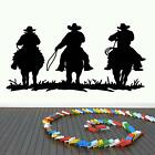 MASSIVE COWBOYS KIDS VINYL WALL ART DECAL CHOOSE FROM 21 DIFFERENT COLOURS