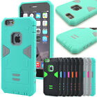 Heavy Duty Hybrid Rugged Rubber Shockproof Hard Case Cover For iPhone 6 6S Plus