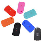 2 BUTTON FIT FOR MAZDA 2 3 5 6 M2 M3 M6 SILICONE KEY REMOTE CASE COVER FOB SHELL