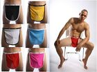 Valentines Mens Sexy Stretch Open Mankini Thong apron panties Underwear Lingerie