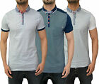Mens Designer Bewley & Ritch Polo T Shirt Smart Collared Pique Top 3 New Styles