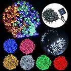 200/300/400/500 LED Solar Power Xmas Lights Bright Outdoor Indoor Fairy Strings