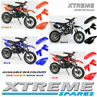MINI DIRT BIKE CRX COMPLETE PLASTICS KIT/ MOTOR BIKE/ ALL COLOURS/ PARTS