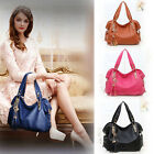 New Ladies Real Leather Shoulder Bag Satchel Cross Body Tote Handbag Free Ship