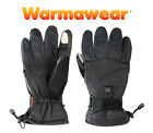 Deluxe Heated Thermal Winter Gloves Battery Powered Hand Warmers Skii Warmawear