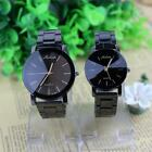 Fashion Women Men Stainless Watches Wrist Watch Couples Casual New Classic