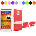 High Quality Plastic Hard Back Stand Case For Samsung Galaxy Note 4 Muti-color01
