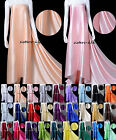 100% Pure Mulberry Silk Charmeuse Fabric For Clothing Bridal Curtain Craft Quilt