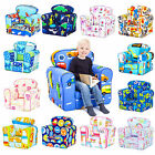 Children's Armchair Kids Toddler Seat Removable Cover Padded Upholstered Chair