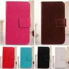 Accessory Flip Design PU Leather Case Protective Cover Skin For Sky Smartphone