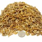 """Red Shrimp--Freeze Dried  3/8"""" to 1/2""""  for Small & Medium Fish, Koi, Turtles"""