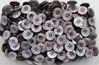 Large 20mm 32L Lilac Shell Effect Pearlescent Quality 4 Hole Buttons (Z112)