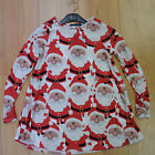 Ladies Girls Christmas Dress Children Mother Daughter Dresses Santa Outfit New