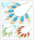 New Arrive Hot Selling Fashion Unique Noble Mixed Style Bib Necklace 3 Colors