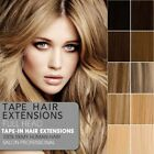 "16""18''20""22"" Skin Tape In 100% Remy Human Hair Extensions Real Thick UK STOCK"