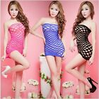 Sexy Women Lingerie Nightwear Babydoll Fishnet Bodystocking Dress Party Bodysuit