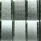 Waterproof PVC Privacy Frosted Home Window Sticker Glass Film Adhesive 40X100CM