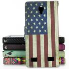 For ZTE ZMax 2 Wallet Case Flip Stand Credit Card Folio Pouch Design Phone Cover
