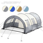 4 Person Tunnel Tent Berth Camping Picnic Outdoor Garden Carry Bag Colour Choice