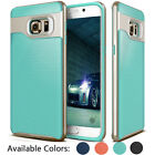 Hybrid Hard Bumper Soft Rubber Impact Case Cover For Samsung Galaxy S6 edge+Plus