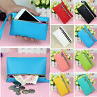 Kyпить Womens Lady Card Coin Key Holder Zip Faux Leather Wallet Pouch Bag Purse Make UP на еВаy.соm