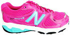 New Balance Kj680pky Girl's 680 V2 Pink Lace Up Running Sports Trainers New