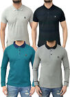 Mens Designer Voi Jeans Polo Shirt Casual Smart Trendy Pique T Shirt Collared