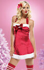 Sexy Santa's Little Helper Christmas Dress Costume