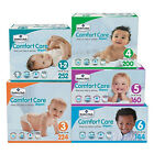 Comfort Care Baby Diapers compared to HUGGIES Size 1-2, 3, 4, 5, 6 CHEAP! NO TAX