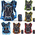 Mens Womens Outdoor Cycling Biking Bicycle Shoulder Backpack Water Bags 18L