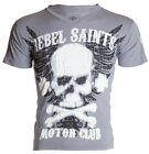 Rebel Saints AFFLICTION Mens T-Shirt GRAFFITI Biker UFC Xtreme Couture M-XXL $40