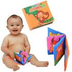 Soft Cloth Baby Kid Child Intelligence Development Learn Picture Cognize Book AD