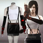 Final Fantasy VII Advent Children Tifa Lockhart Deluxe Cosplay Costume Full Set