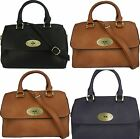 Designer Style Leather-Look Ladies Handbag With Shoulder Strap