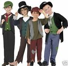 Boys Poor Victorian Urchin Dickens Oliver Twist Book Day Fancy Dress Costume