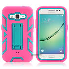 Hybrid Shockproof Rugged Rubber Hard Case Cover For Samsung Galaxy Core Prime