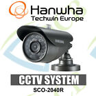 Samsung SCO-2040R WEATHERPROOF IR Bullet CAMERA CCTV 650TVL Outdoor Security