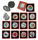 Внешний вид - Makeup Cosmetic Compact Mirror Flower Butterfly Normal & Magnifying Portable